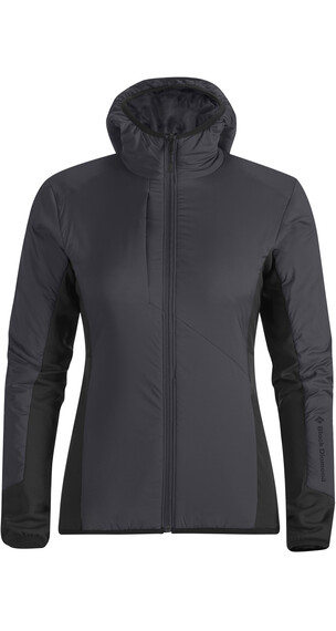 Black Diamond W's Deployment Hybrid Hoody Smoke